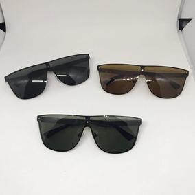 Óculos De Sol Masculino Modelo Quadrado Metal Lentes Uva uvb ... 72f727a6b8
