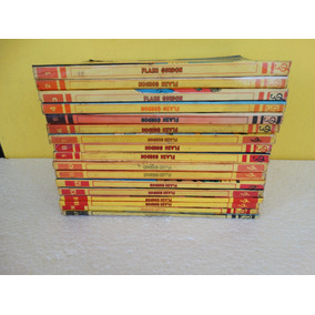 Flash Gordon Nºs 1 A 17! Edit. Paladino 1971-1974! Completa!