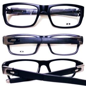 9762d2c38a2b6 Armação Para Grau Oculos Masculino Varias Cores + Estojo