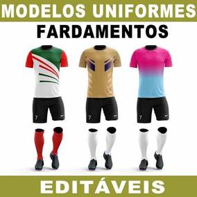 Vetores Uniformes Times Futebol Sublimação Artes Editáveis