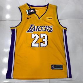adcd69b61 Camisa Regata La Lakers Masculina Lebron James 23 - Oferta