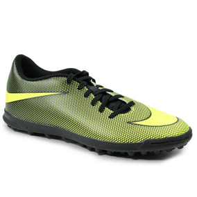 9b2d201411 Chuteira Society Nike Verde Limão - Chuteiras Nike de Society no ...