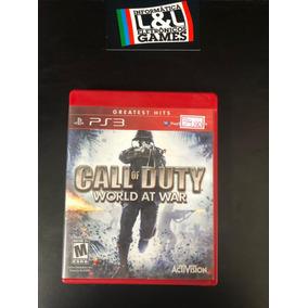 Call Of Duty World At War Ps3 Usado