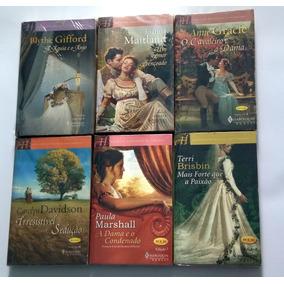 Kit 3 Livros Harlequin Books Grandes Romances Históricos