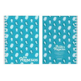 Libreta Platica Polinesia Azul