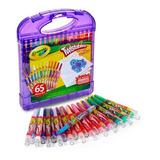 Set Crayola 65 Unidades Mini Crayones Twistables