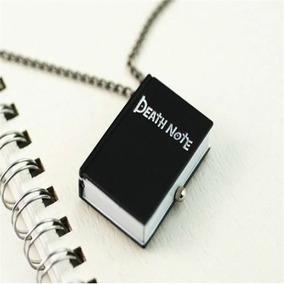 Collar Reloj Libreta Death Note Hombre Mujer