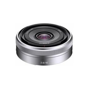 Lente Sony 16mm F/2.8 Sel16f28 E-mount
