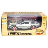 Volver Al Futuro 3 Auto Delorean Time Machine Escala 1:24
