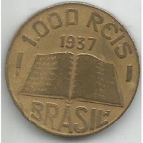 Egoto-v 158-moeda 1.000 Réis 1937 José Anchieta