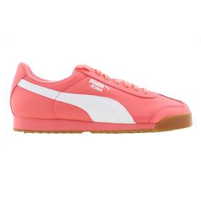 Tenis Puma Roma Low Boot Basic Summer Rosa - Mujer 359841 1 74e3de801e36c