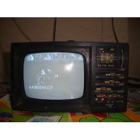 Tv Portátil Tokay Tvr-560 C Conversor Av P Rf Não É Digital
