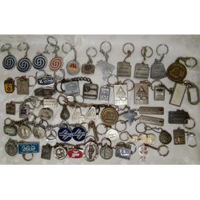 Lote 51 Chaveiros Antigos Metal Sanepar Credicard Ufpr