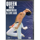 Dvd Queen Rock Montreal E Live Aid Duplo - Original Lacrado!