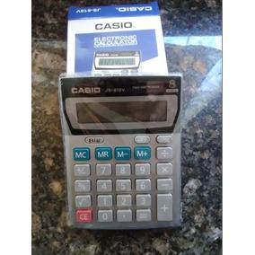 Calculadora Mesa Casio Js-818v Bodeg Oficina Detal Tienda