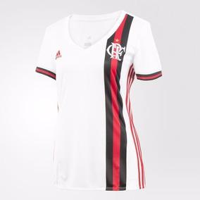 Camiseta Flamengo Branca Feminina Baby Look - Camisetas Manga Curta ... d4c37cff0bddc