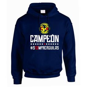 Sudadera América Campeón Apertura 2018 Marino Envío Gratis