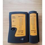 Lan Tester De Rj45 Y Rj11 Probador De Cable De Red C/estuche