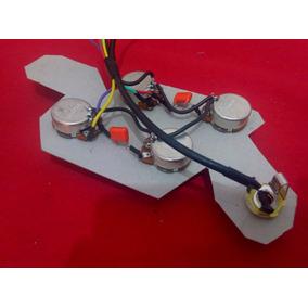 Circuito P/ Guitarra Les Paul Sg 335 Pot Alpha Completo