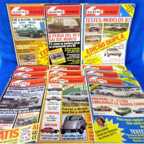 Lote Revista Quatro Rodas (12) N°.254,252,253,255,256,257...