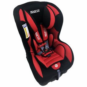 Silla De Carro Bebe - Niño Roja Sparco