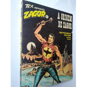 Zagor Da Editora Vecchi Nºs De 1 A 4