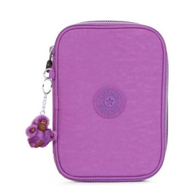 Kipling Lapicera Grande 100 Pens Original Lilac Dream Purple