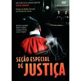 Dvd Sessão Especial De Justiça - Costa Gravas - Novo Lacrado