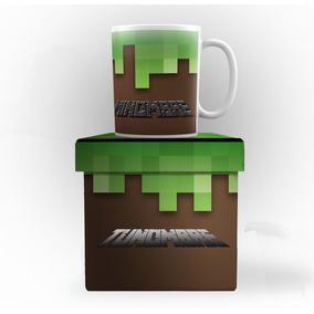 Minecraft Caja Y Taza Original Personalizada El Mejor Regalo