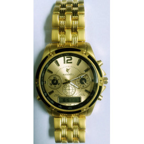 dd3f4f571d1 Relogio Masculino Ferro Dourado - Relógios De Pulso no Mercado Livre ...