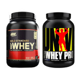 Gold Standard 907g Optimum + Ultra Whey 907g Universal