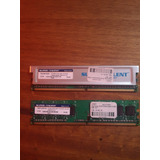 Memoria Ddr2 512mb Cada Stick. 1gb En Total.