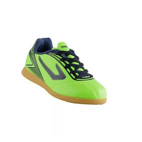 Chuteira Topper Futsal Falcao Adultos Society - Chuteiras Verde no ... df901c6d9d684