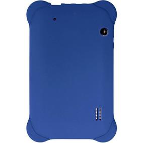 Capa Case Emborrachada P Tablet 7 Polegadas Azul Multilaser