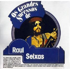 Os Grandes Sucessos De Raul Seixas - Cd Rock