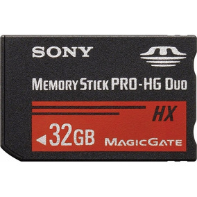 Memory Stick Pro Duo 32gb Mark2 Sony Alta Velocidad