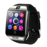 Smart Watch Bluetooth Q18 Sceltech Com Câmera Facebook Sync