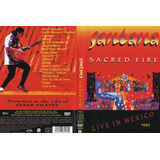 Dvd Carlos Santana Sacred Fire - Live From Mexico