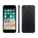 iPhone 7 Apple 32gb Preto Matte 4g Tela 4.7retina-câm. 12