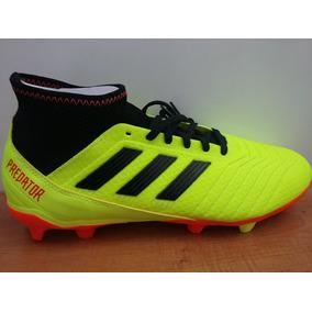 half off f890e 1deba Zapatos adidas Predator 18.3 Gr Amarillo  Negro Caballero