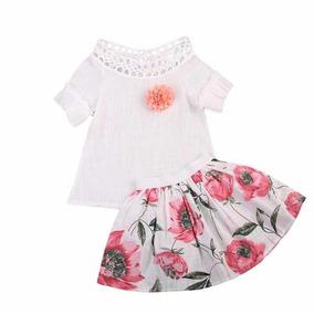 Precio Conjunto Floral ( Falda / Blusa )