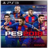 Pro Evolution Soccer 2018 Pes 18 / Ps3 Digital