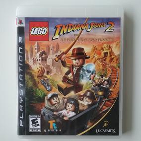Lego Indiana Jones 2 Ps3 Mídia Física S/ Manual Usado