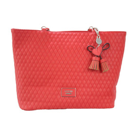 Bolsa Guess Envisioning Jj622323-red Rojo Dama Original