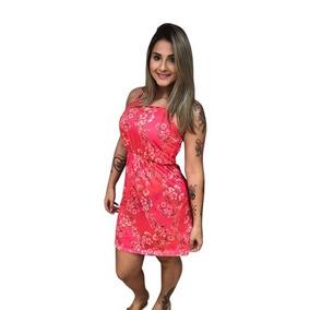 1b228cb23 Bonprix Vestido - Vestidos Curtos Femininas Coral no Mercado Livre ...