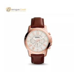 445a4a851c23 Reloj Fossil Original Fs4991 De Cuero De 44mm Con Cronometro