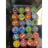 Tazos Pokemon Lote De 24 Replicas