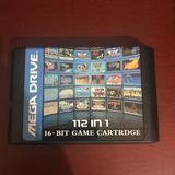 Cartucho Multijuegos 112 En 1 Sega Genesis+ Envio Gratis