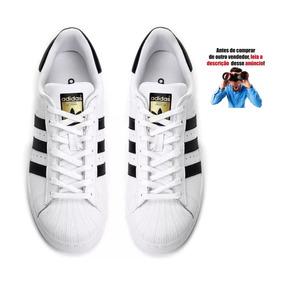 Tênis Adidas Superstar Na Caixa Star Masculino - Tênis no Mercado ... f675307f2654
