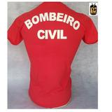 Camiseta Bombeiro Civil Vermelha ( Pj Militar ) b36c353394d